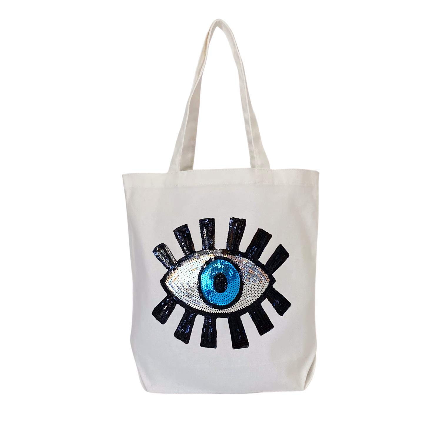 Canvas Max 47% OFF Popularity Tote Bag Eco-Friendly Beach Gusset Bottom Flat L Bags