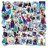 50 Pcs Frozen Stickers, Movie Themes Waterproof...