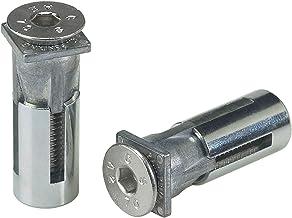 LOCINOX bevestigingssysteem/bouten Quick-Fix met hoge treksterkte, roestvrij staal inhoud: 2 stuks, zilver