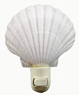 scallop shell night light