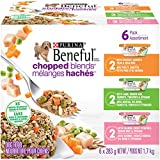 Beneful Chopped Blends Adult & Puppy Wet Dog Food Variety Pack, 283 g