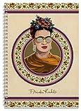 Grupo Erik Editores CTFA4P0001 - Cuaderno tapa forrada pautado, diseño Frida Kahlo, 21 x 29.7 cm