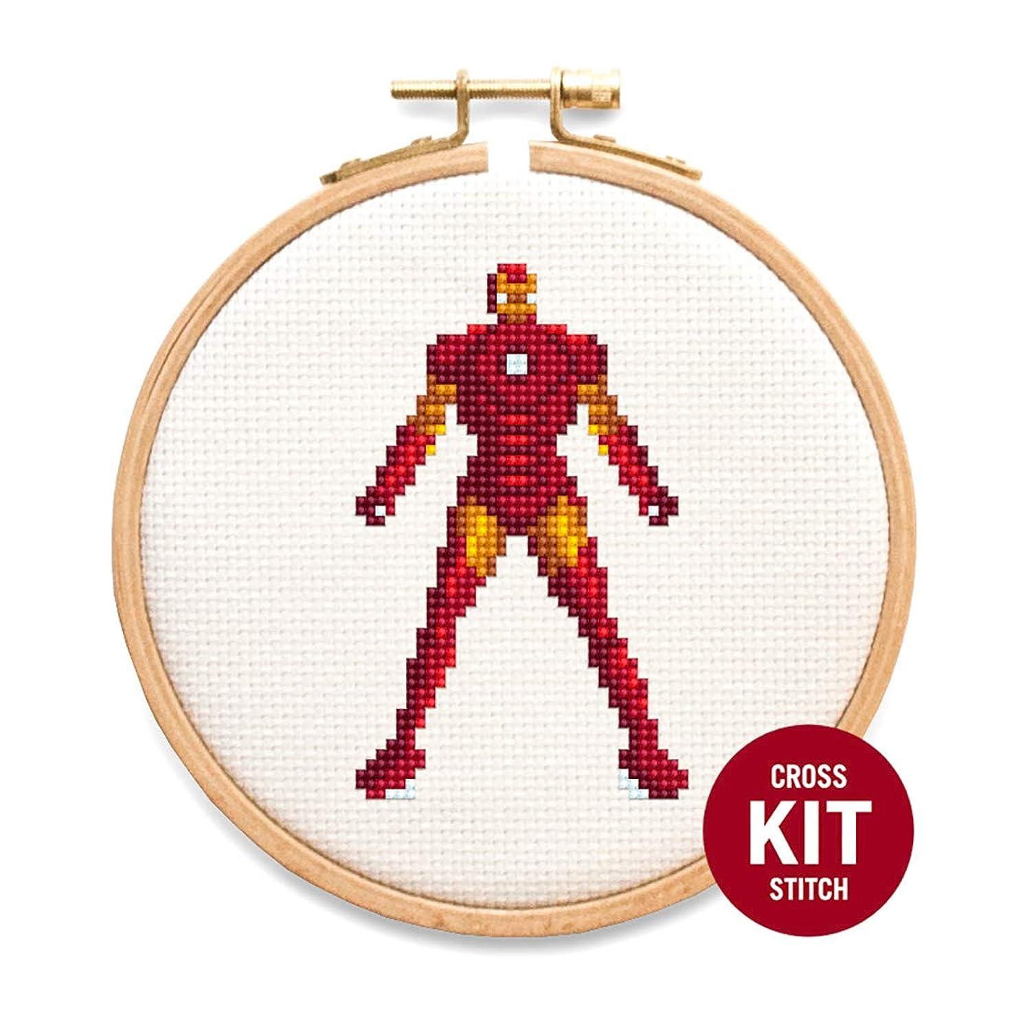 Iron Man Cross Stitch Kit by Stitchering
