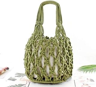 : fil coton pour crochet Vert Femme Sacs