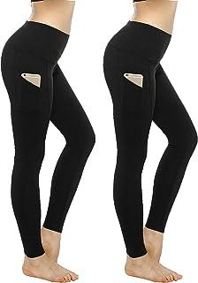KT Buttery Soft Leggings Capri for Women - High Waisted...