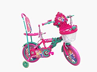 "Basmah PRINCESS BICYCLE 14"" W/ BASKET 25-1402HRA"
