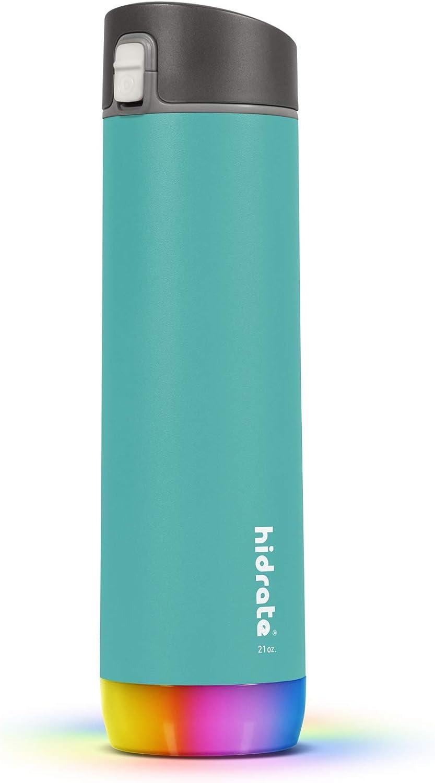 HidrateSpark STEEL 2021 autumn and winter new Smart Water Seasonal Wrap Introduction Tracks Intake Bottle Glo