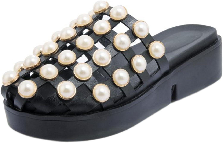RizaBina Women Fashion Cut Out Slide Sandals