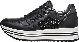 NeroGiardini E010563D Sneaker Donna Pelle/Camoscio/Tela