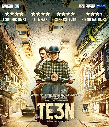 Teen Hindi Blu Ray - Stg: Amitabh Bachchan, Nawazuddin Siddiqui, & Vidya Bala (Teen Blu Ray)
