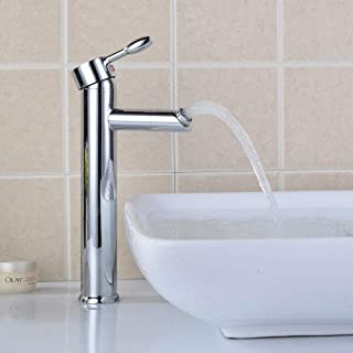 High Spiral Mixing tap in hot and Cold Brass with 360 Degree Single Hole