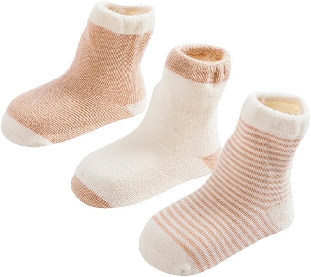 Gavena 2 Paar Weiche Baby Hausschuhe Winter Socken Kleinkind M/ädchen Hausschuhe Baumwolle Neugeborene Jungen Warme Lauflernschuhe Weiche Sohle rutschfest Krabbelschuhe