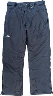 Alpine Ascentials Men's Classic Snow Pant, Black, Medium
