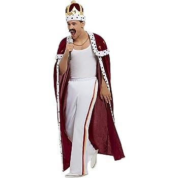 Smiffys Disfraz de Reina Freddie Mercury Royal para Hombre Large ...