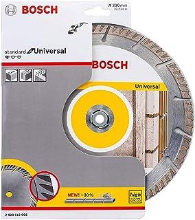 Bosch Professional diamantkapskiva Standard for Universal (betong och murverk, 230 x 22,23 mm, tillbehör vinkelslip)