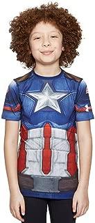 captain america navy suit