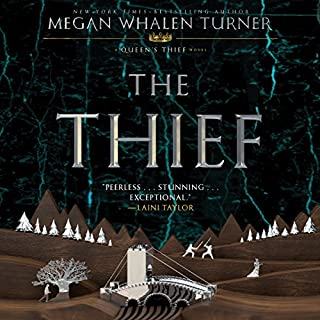 The Thief                   By:                                                                                                                                 Megan Whalen Turner                               Narrated by:                                                                                                                                 Steve West                      Length: 7 hrs and 41 mins     666 ratings     Overall 4.4