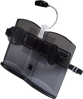 OKARA ブックスタンド 書見台 卓上 ブックホルダー 折りたたみ iPad スタンド ホルダー スマートフォン 本 読書 勉強 (黒)