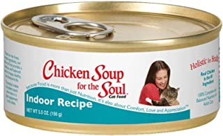 Chicken Soup Indoor Hairball Cat Can (24X5.5Oz. Case)
