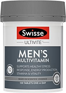 Swisse Mens Ultivite F1 120 Tablets