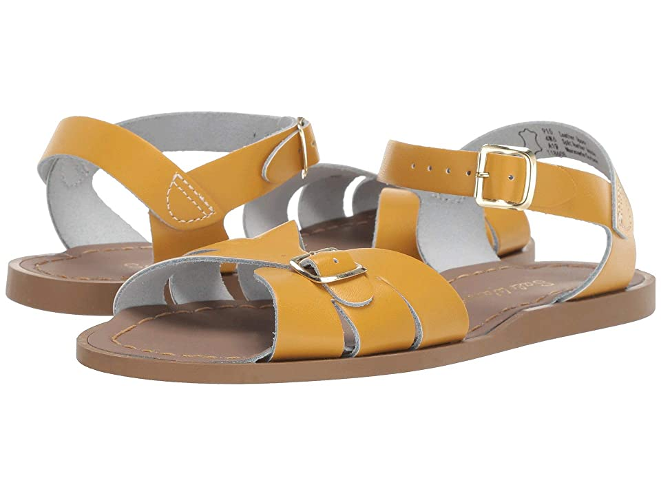 Salt Water Sandal by Hoy Shoes Classic (Big Kid/Adult) (Mustard) Girls Shoes