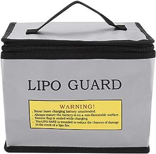 TOPINCN Safe Bag feuerfeste explosionsgeschützte Lipo Batterie Lagerung Schutzhülle Tasche tragbare Doppelreißverschlüsse
