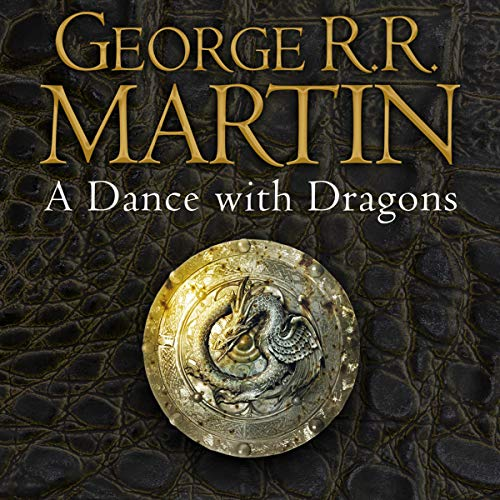 A Dance with Dragons audiobook cover art
