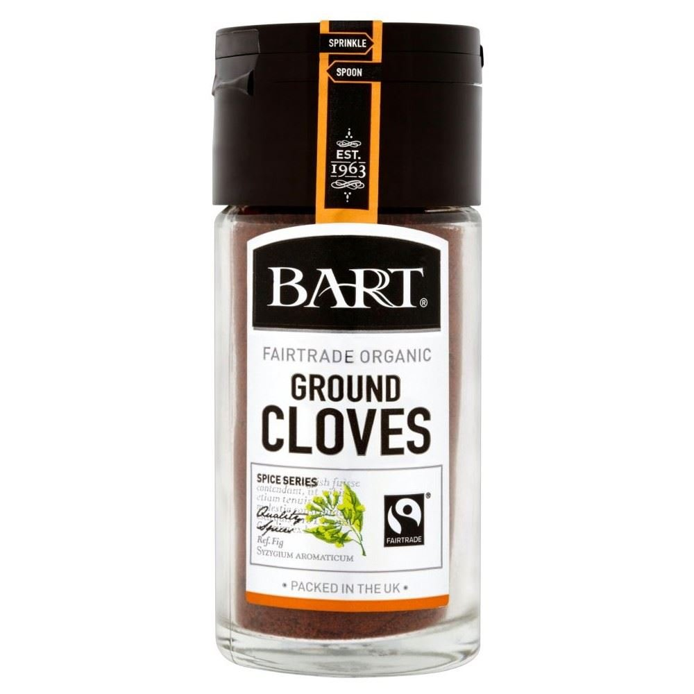 Easy-to-use Bart Organic Fairtrade Ranking TOP3 Ground Cloves 32g