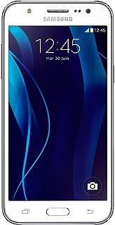 Samsung Galaxy J5 - Smartphone libre Android (pantalla 5 cámara 13 Mp 8 GB Quad-Core 1.2 GHz 1.5 GB RAM) blanco- Versión Extranjera