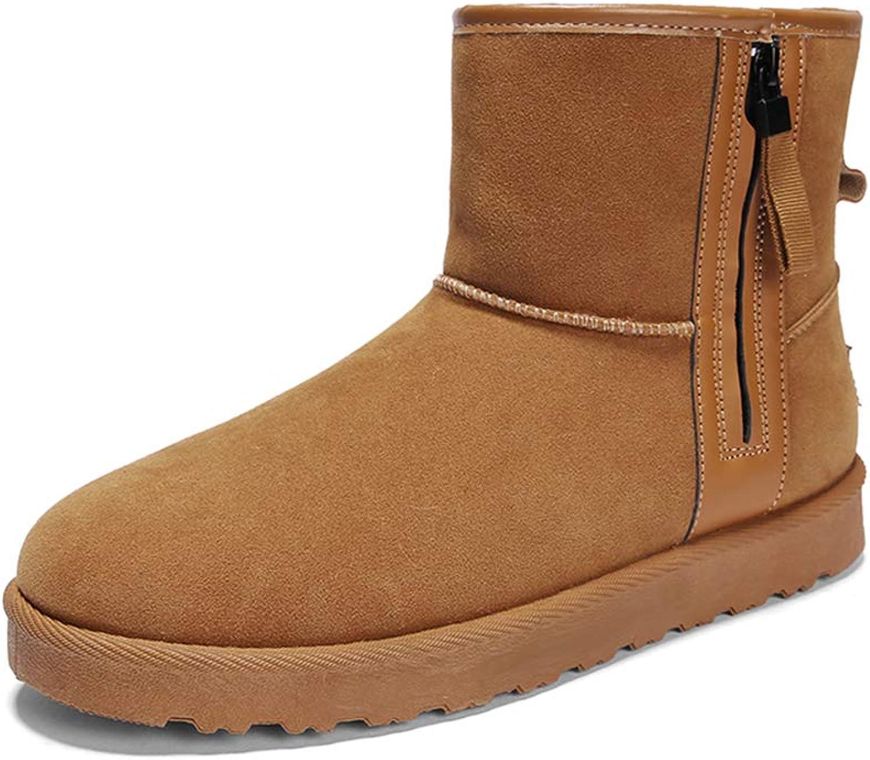Memory Winter Warm Cotton shoes, Snow Boots, High-top Non-slip Versatile Plus Velvet Booties