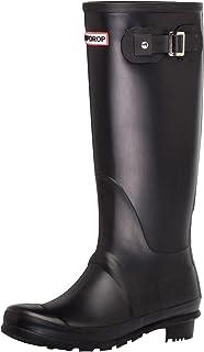 [VONSU] レインブーツ レディース レインシューズ ロング 長靴 雨具 防水 カジュアル オシャレ かわいい イエロー/レッド/グリーン/ブルー/ブラック/ピンク