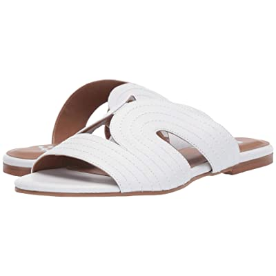 French Sole Diana Sandal (White Leather) Women