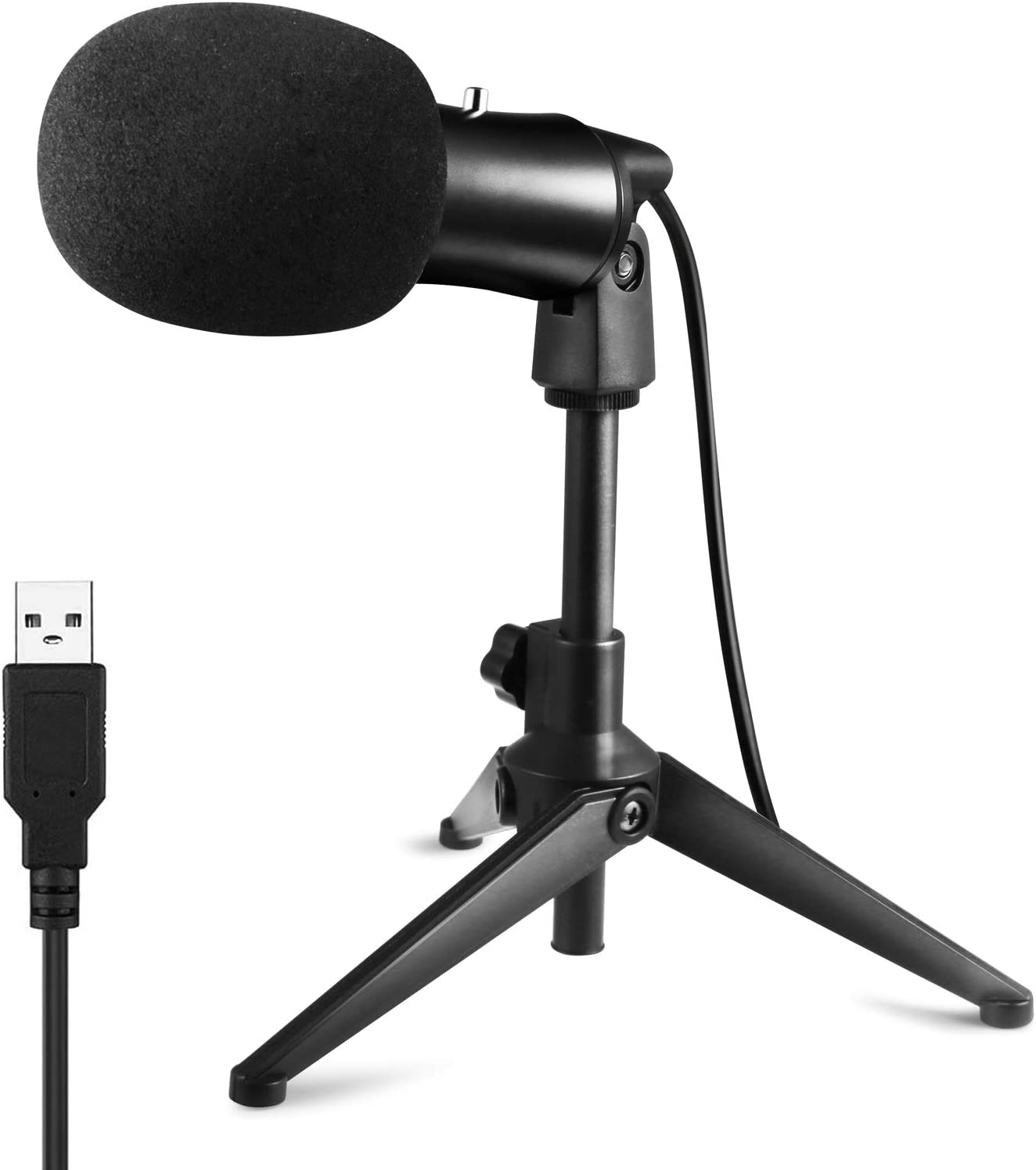 Audio & Video Accessories Heayzoki USB Conferencing Microphone PC ...