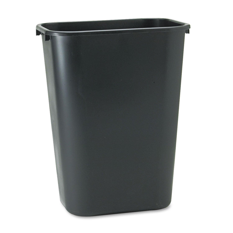 RCP295700BK Max Ranking TOP17 55% OFF - Deskside Plastic Wastebasket
