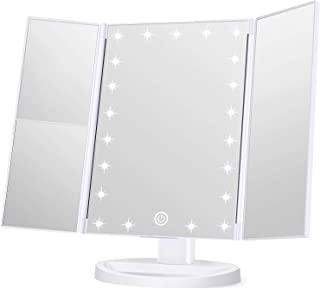 Wondruz Makeup Mirror Vanity Mirror with Lights, 1x 2X 3X...