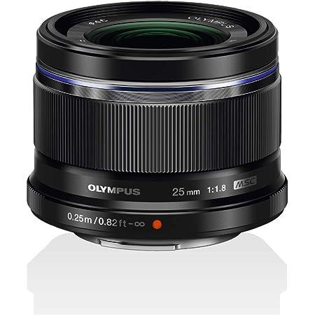 OLYMPUS M.ZUIKO DIGITAL 25mm F1.8 ブラック マイクロフォーサーズ用 単焦点レンズ