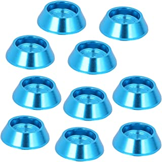 NCONCO 10 piezas de repuesto para actualización de tornillo de aleación de aluminio para MN‑D90 MN‑99 MN‑91 FJ‑45 (azul)