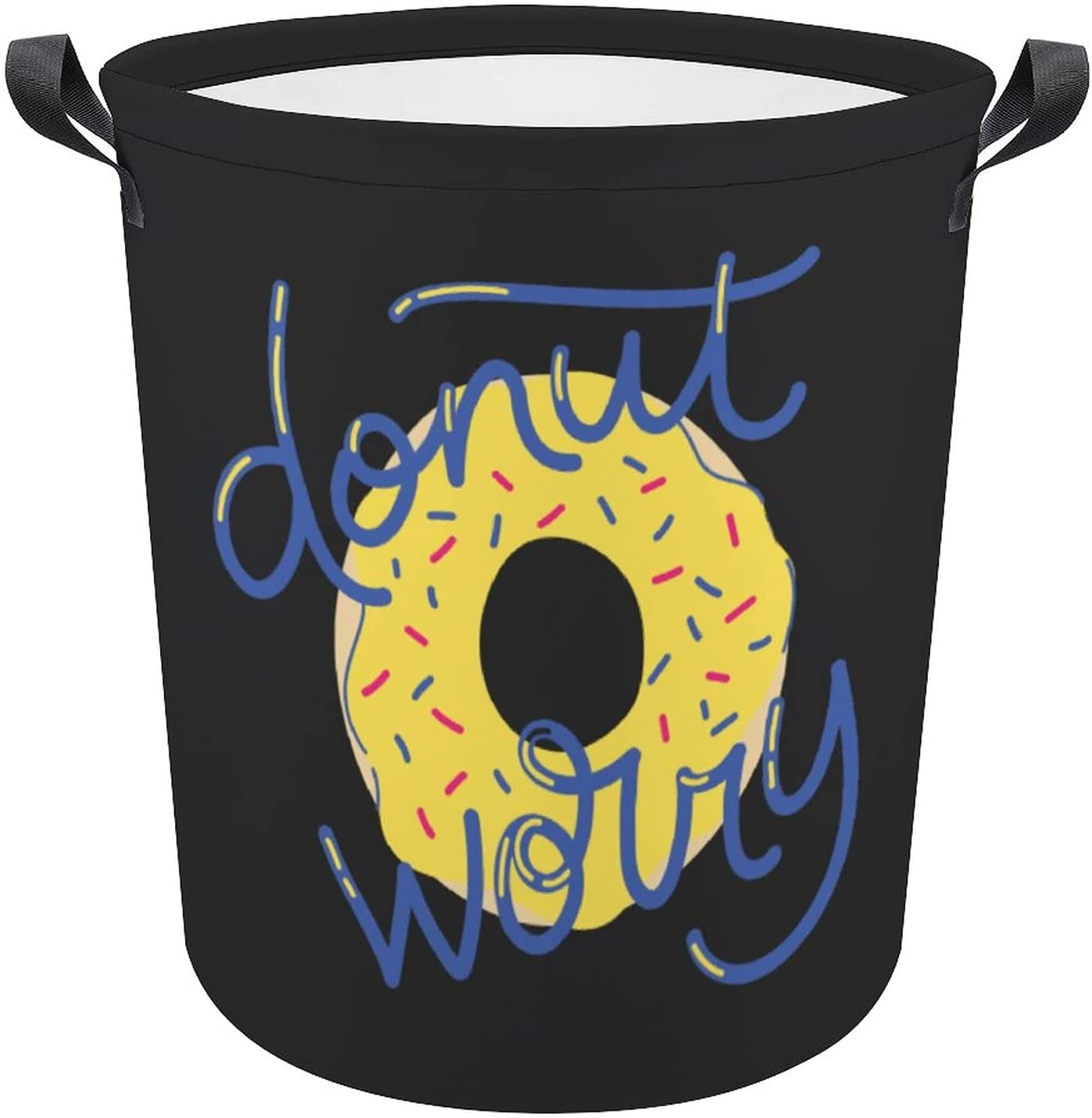 Donut Don't Worry Phoenix Mall New mail order Humor Funny Gift Oxford Hamper Quotes Laundry