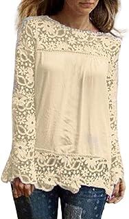 fb94c8337 Amazon.es: Blusas De Encaje Elegantes
