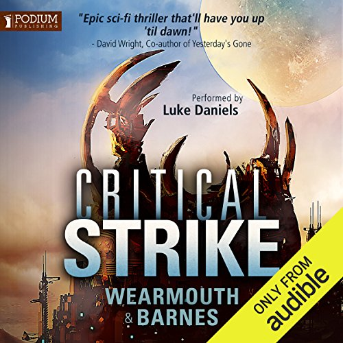 Critical Strike audiobook cover art