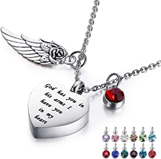 Best heart ashes necklace Reviews
