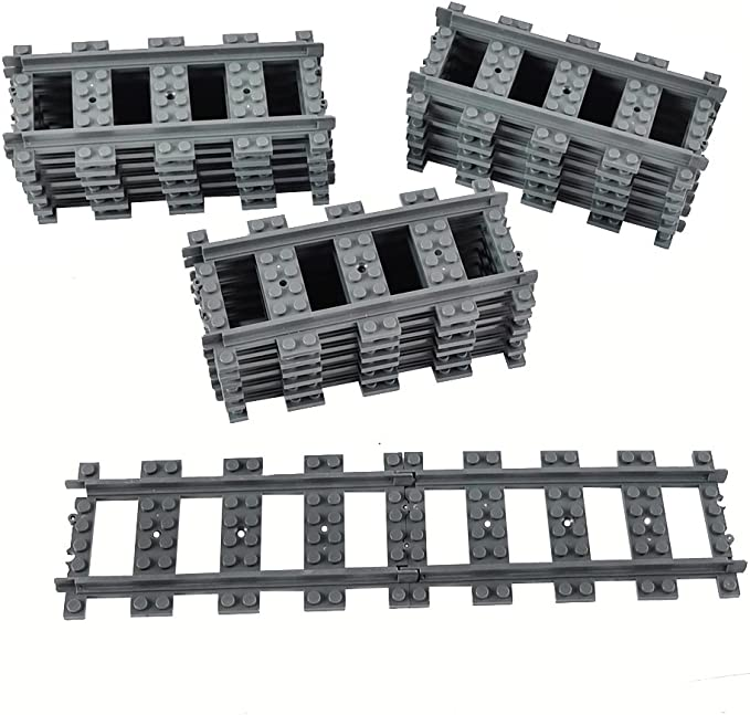 Factory Sealed Straight Curved NEW LEGO Train Tracks City Trains 60205