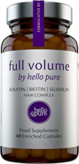 New Extreme Hair Growth Vitamins for Women & Men with Enriched Biotin, Keratin & Selenium Plus Other Vital Hair Supplements for Growth | More Effective Than Shampoo Conditioner or Oil