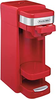 Proctor Silex FlexBrew Single Serve Pack or Ground Coffee Maker, Red | 49977