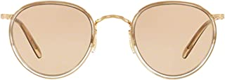 Luxury Fashion | Oliver Peoples Mens OV11045287 Gold Sunglasses | Fall Winter 19
