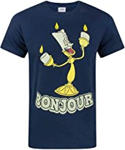 Disney Beauty And The Beast Bonjour Men's T-Shirt