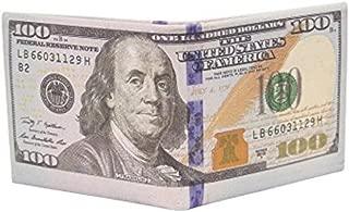 Slim Wallet, Men US Dollar Bill Wallet Leather Credit Card Photo Holder Bifold