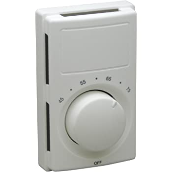 Marley M601W Qmark Electric Line Voltage Wall Thermostat - Heaters -  Amazon.comAmazon.com