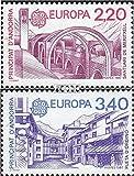 Prophila Collection Andorra - francés Correos 379-380 (Completa.edición.) 1987 Europa (Sellos para los coleccionistas)
