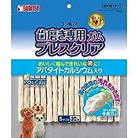 (まとめ買い)サンライズ ゴン太の歯磨き専用ガム ブレスクリア S 32本 【×12】